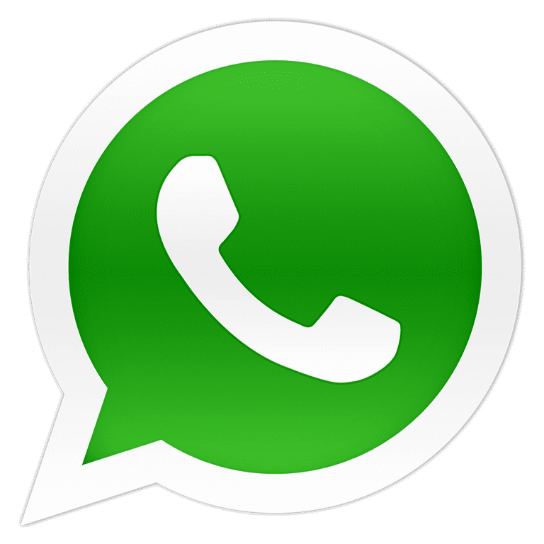 whatsapp logo PNG Transparent